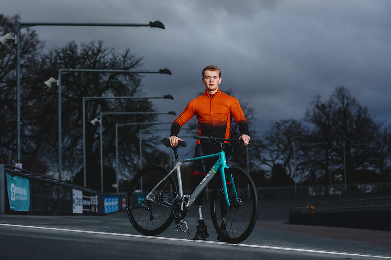 Billy's Big Challenge for Comic Relief, Herne Hill Velodrome