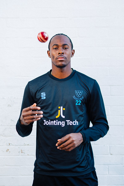 Sussex fast bowler, Jofra Archer. 2019