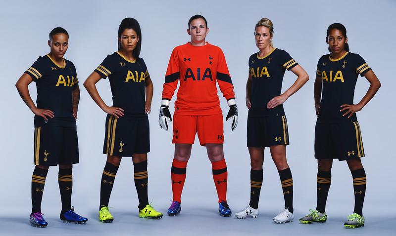 Spurs Ladies kit launch at the Tottenham Hotspur training ground