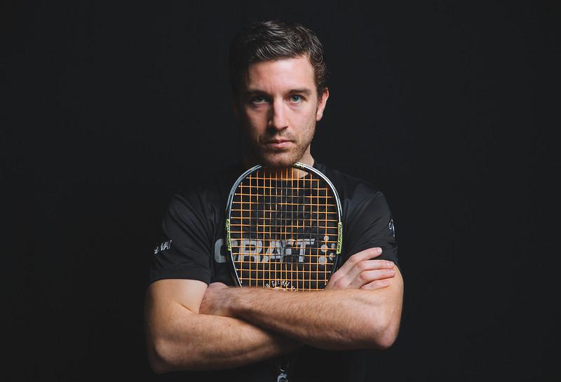 French Squash Player Mathieu Castagnet