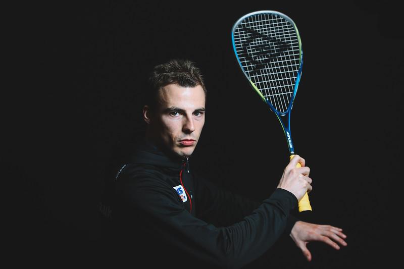 Squash Player Nick Matthew of England