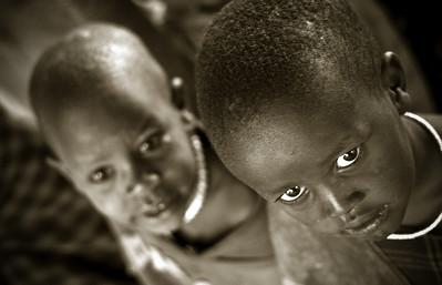 Masai boys, Tanzania, 2007