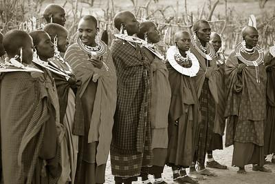Masai women, Tanzania, 2007