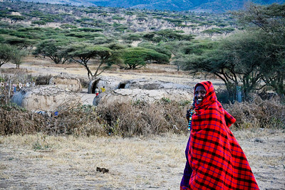 Masai men, Tanzania, 2007