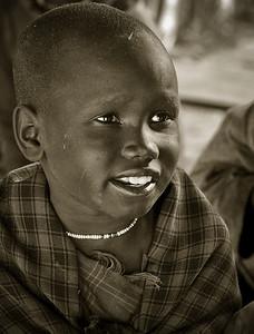 Masai child, Tanzania, 2007