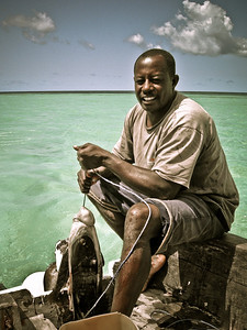 Captain Ali, Pongwe Beach, Zanzibar, Tanzania 2007