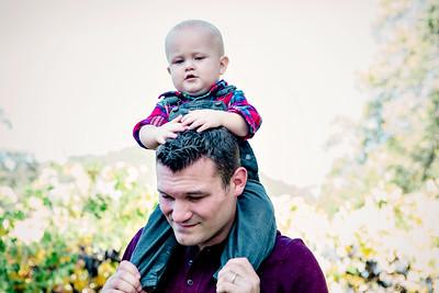 Calistoga Vineyard Baby and Family Portrait