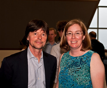 Ken Burns and Cindy at the reception for The National Parks: America's Greatest Idea