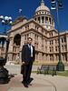 David at Capitol Building