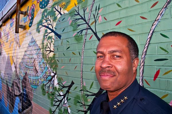 Portland Police Chief, James Craig