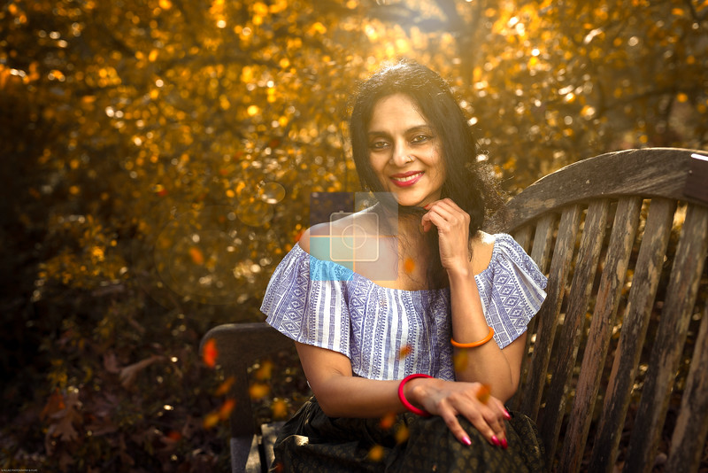 Model: Radha Dutta<br /> Photographer: Vigil, SLRCLIKZ Photography & Films<br /> Location: Brookside Gardens, Wheaton, Maryland<br /> Theme: Muse of the woods