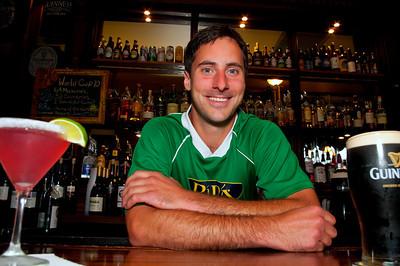 Ri Ra's Joe Tomazin, bartender.