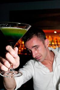 Marcus Verrill, bartender of Portland club, Styxx