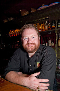 Bull Feeney's Jeff Grundy, bartender