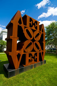 Robert Indiana, iconic 1960s artist