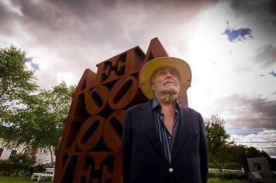Robert Indiana, iconic 1960s artist