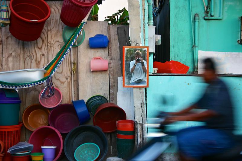 Self portrait, Ambergris, Belize, 2006 © Copyrights Michel Botman Photography