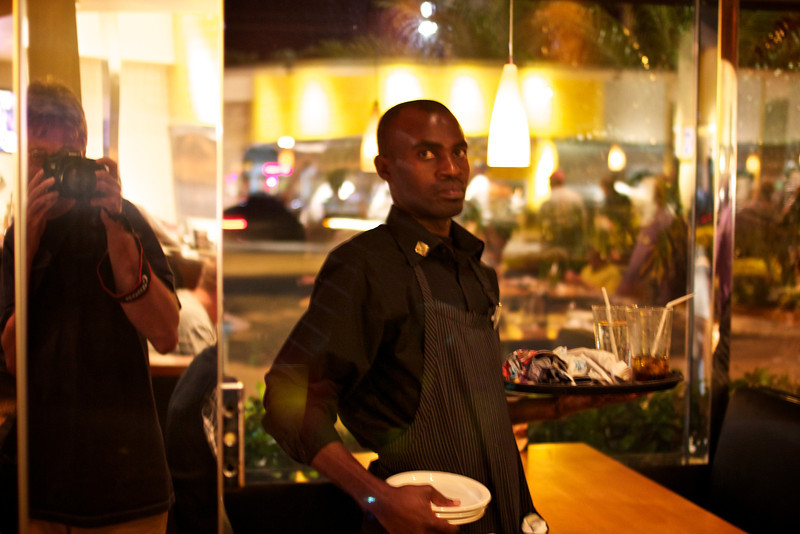 Self portraits, Fort Lauderdale by night, FL, 2012 © Copyrights Michel Botman Photography