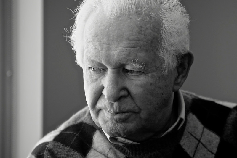 Howard Kleinberg, Holocaust Survivor, Toronto, 2012 © Copyrights Michel Botman Photography