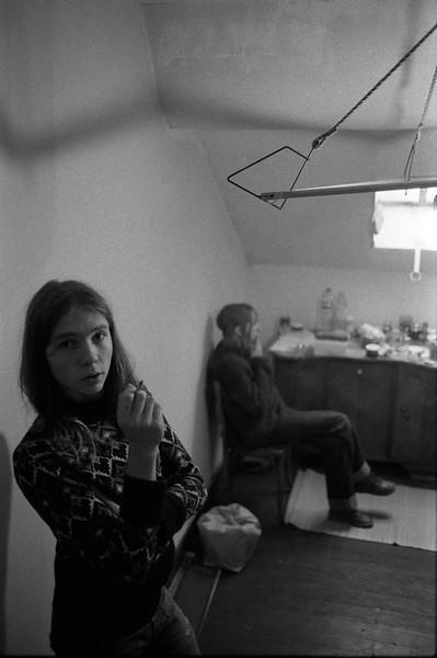 Josiane and her brother, Liege, Belgium, 1980 © Copyrights Michel Botman Photography