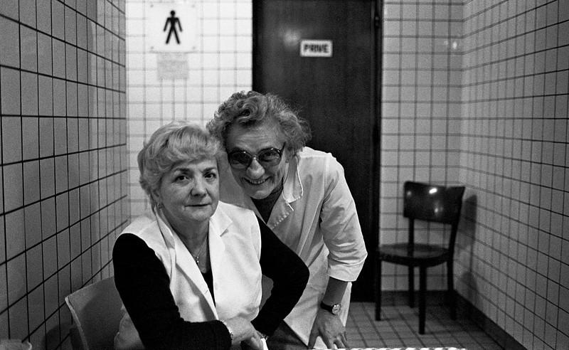 Train Station, Brussels, Belgium, circa 1983 © Copyrights Michel Botman Photography