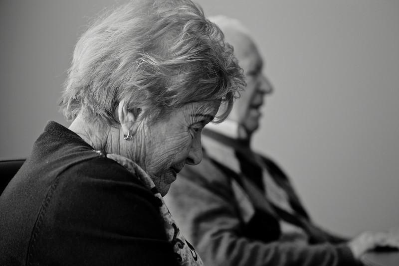Nancy Kleinberg, Holocaust Survivor, Toronto, 2012 © Copyrights Michel Botman Photography