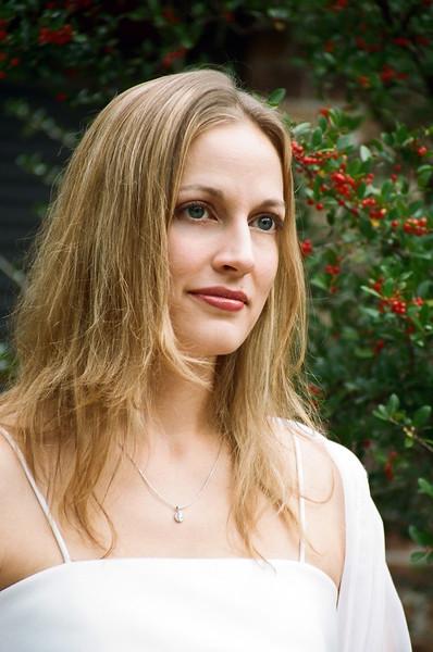 Katherine in Garden