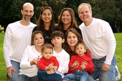 two family portraits for holiday web