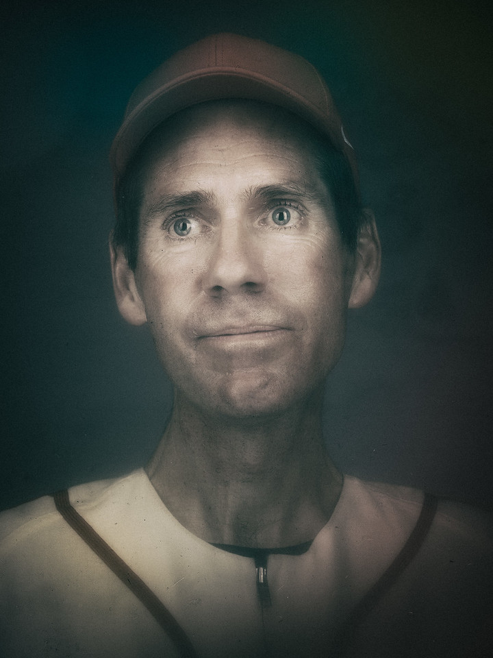 Vintage Baseball Card Portrait 2