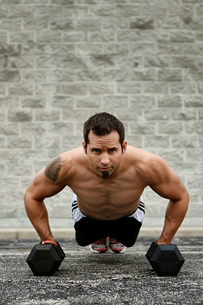 Justin Sawochka Personal Trainer - Jail Yard Pushups Chicago Home Fitness - Merrillville, Indiana