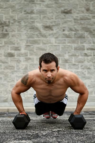 Justin Sawochka Personal Trainer - Jail Yard Pushups Chicago Home Fitness - Merrillville, Indiana