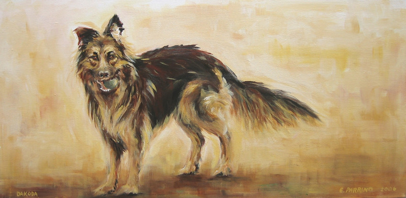 Dakoda 15x30 Acrylic on Canvas