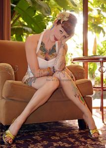 Tana the Tattooed Lady