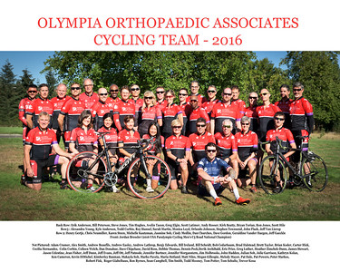 2016 OOA Team Photo