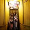 Michelle and 8, Doorway on 6th Street - Austin, Texas