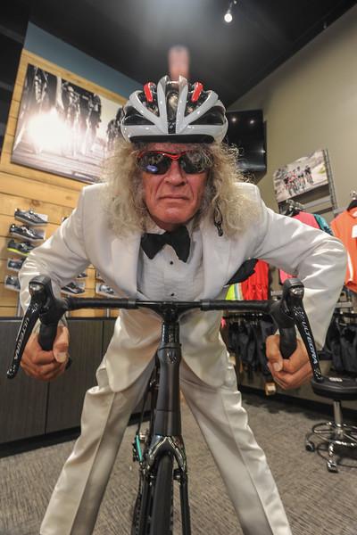 The Peddler Bike Shop on Walker Rd. Memphis Most 2015. Photo by Jason R. Terrell