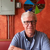 Kirk Tuck at El Mercado - Austin, Texas (Fujifilm XQ1)