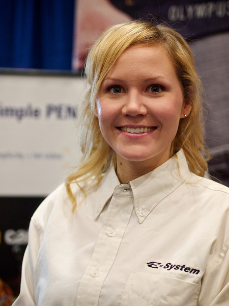 Amber from Olympus, Precision Camera Expo - Austin, Texas