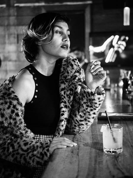 Vanessa, Staged Portrait - Austin, Texas