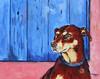 Daisy Arizona Inn 16x20 Acrylic on Canvas 2009