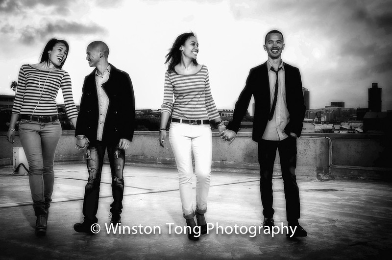 Curwin, Durux, Chad, Larnelle - Rooftop Shoot