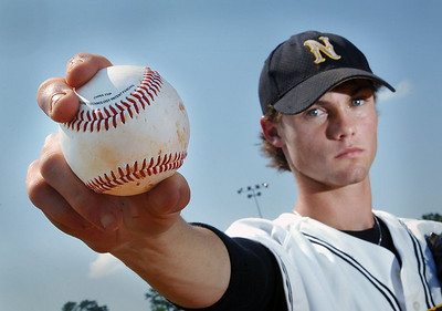 Northwest Rankin High School pitcher Todd McInnis confounded opposing batters this season with his wicked slider.