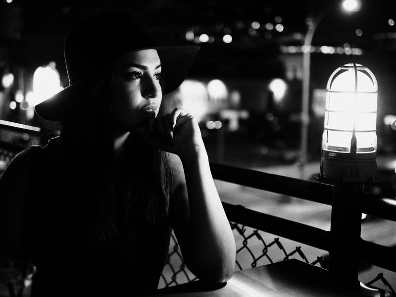 Celissa, Drink and Click Portrait - Austin, Texas