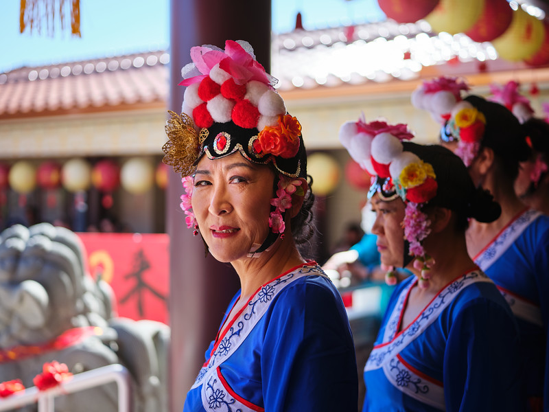 Portrait, Chinese New Year - Austin, Texas