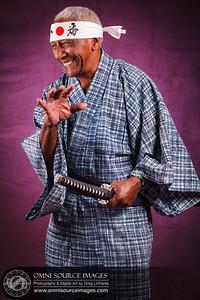 Lazaro - Candid Samurai Portrait