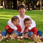 3 kids happy together