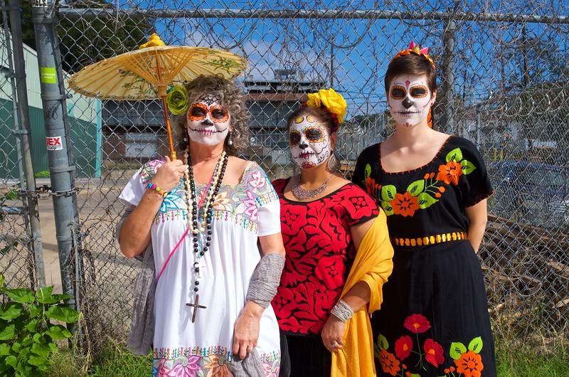 Day of the Dead Portrait - Austin, Texas