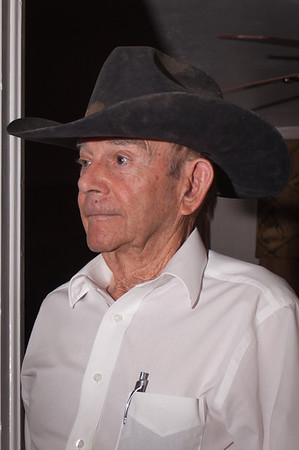 Shaie Williams. Bob Cates 86 year old cowboy. Interview at Channing, TX on May 6, 2016.