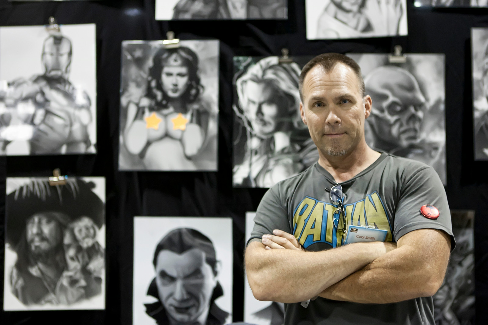 Cory Smith Independent Artist - Drawings & Sculptures Wizard World Chicago (Comic Con)