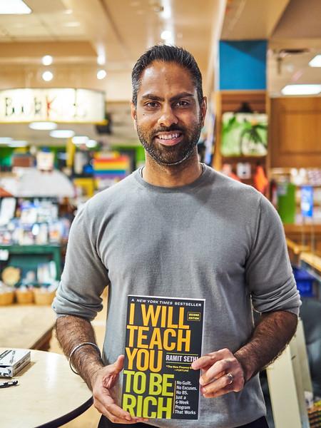 Ramit Sethi, Book Tour - Austin, Texas